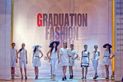 Fashion show group Royalty Free Stock Photography