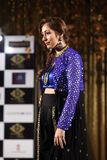 Fashion Show of Jeewan Kaur India Wedding Style. Bangkok, Thailand - September 23, 2017, Fashion Show of Jeewan Kaur India Wedding Style on Stage to present new stock images
