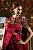 Fashion Show of Jeewan Kaur India Wedding Style. Bangkok, Thailand - September 23, 2017, Fashion Show of Jeewan Kaur India Wedding Style on Stage to present new stock photography
