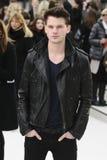 Fashion Show, Jeremy Irvine Stock Photo