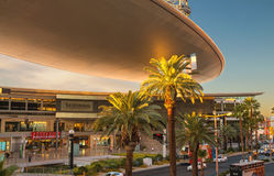 Fashion Show Mall early morning in Las Vegas, Nevada. Royalty Free Stock Photography