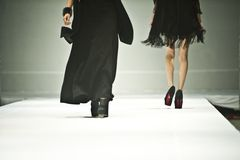 Fashion Show. N Chinese fashion show has become a kind of visual entertainment Chinese elite. The entertainment capital of Changsha, a variety of fashion shows Royalty Free Stock Photos