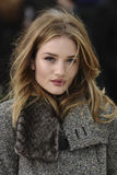 Fashion Show, Rosie Huntington-Whiteley, Royalty Free Stock Images