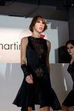 Fashion Show in Serbia. Designer Slavna Martinovic, sponsored by VIP mobile Royalty Free Stock Images