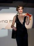 Fashion Show in Serbia. Designer Slavna Martinovic, sponsored by VIP mobile Royalty Free Stock Photography