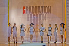 Fashion show team Royalty Free Stock Images