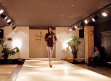 Fashion show in Turkey Stock Photography