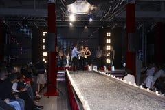 Fashion Show in Warsaw Stock Photo