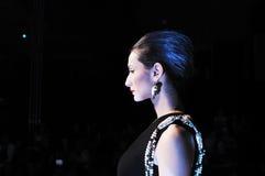 Fashion show woman Stock Photography