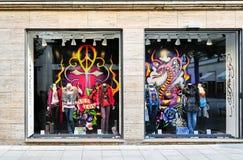 Fashion showcase in London Stock Photo