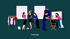 Fashion showl video animation footage stock video footage
