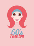 Fashion of sixties Stock Image