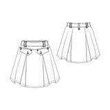 Fashion Skirt Royalty Free Stock Photo
