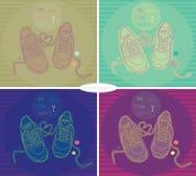 Fashion sneakers Royalty Free Stock Photo