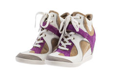 Fashion sneakers Stock Photography