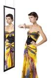 Fashion Snob Dislikes Outfit Stock Photo