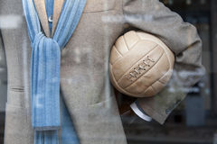 Fashion and soccer Royalty Free Stock Image