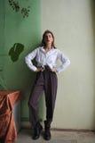 fashion ståenden Arkivbild