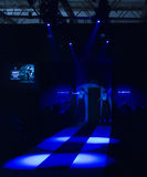 Fashion stage in Belgrade, amstel fashion week Stock Image