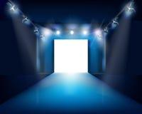 Fashion stage.  Vector illustration. Stock Image