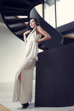 Fashion and stair Stock Image
