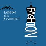 Fashion is a statement Stock Images