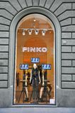 Pinko fashion store in Florence, Italy Royalty Free Stock Photography