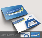 Fashion Store Business Card Royalty Free Stock Images