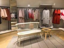 Fashion store. Fashion clothing store Stock Image