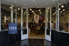 Fashion store Royalty Free Stock Image