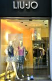 Fashion store in Italy  Royalty Free Stock Images