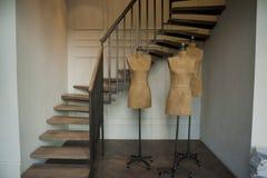 Fashion Store Mannequins. Paris, Fashion Store Manequins, Palais Royale Royalty Free Stock Photo