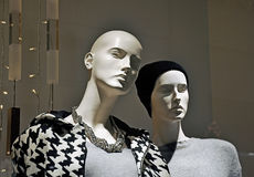 Fashion store mannequins Royalty Free Stock Photo