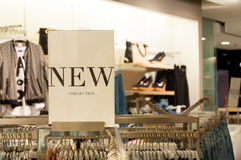 Fashion store new collection