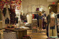 Fashion store Royalty Free Stock Photo