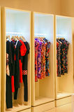 Fashion store wardrobe Royalty Free Stock Photos