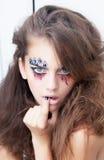 Fashion style creative  actress - mime Stock Photo