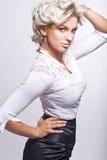 Fashion style photo Royalty Free Stock Photos