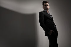 Fashion style photo of young man Royalty Free Stock Photo