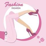 Fashion style Royalty Free Stock Photos