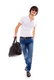 Fashion stylish man Royalty Free Stock Photos