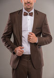 Fashion suit Stock Photography