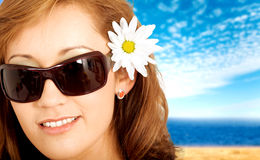 Fashion summer portrait Royalty Free Stock Photo