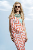 Fashion summer woman Royalty Free Stock Photos