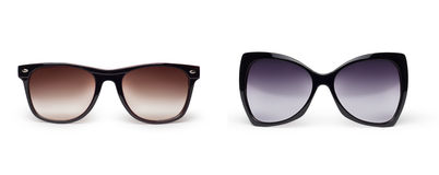 Fashion Sun glasses Stock Photos