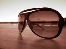 Fashion sunglasses Stock Photography