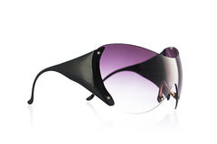 Fashion sunglasses with big frames isolated over white backgroun Stock Images