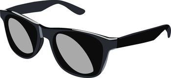 Fashion sunglasses Stock Images