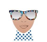 Fashion sunglasses Isolated Stock Images