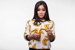 Fashion swag portrait of beautiful elegant asian woman Royalty Free Stock Image